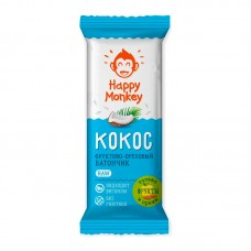 "Батончик ""Кокос""  Happy Monkey"